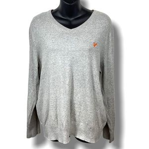 AEO classic v-neck relaxed fit sweater